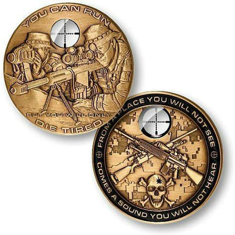 Sniper Challenge Coin