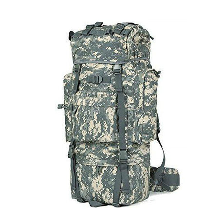 MOLLE 100L Camo Backpack Internal Frame Waterproof