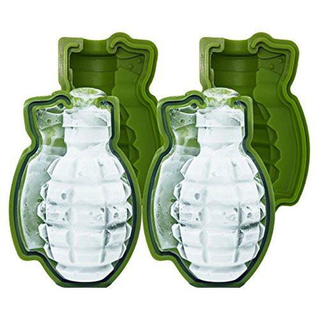 Grenade Silicone Ice Cube Molds