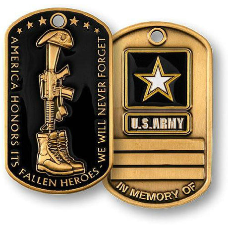 Fallen Heroes US Army Dog Tag