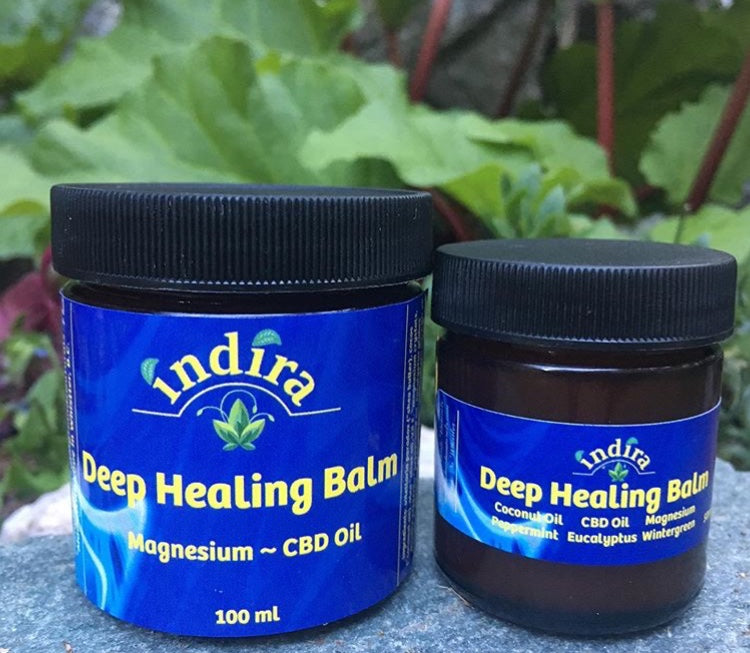 Deep Healing Balm with CBD and Magnesium