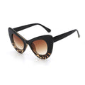 Leopard Monaco Round Cat Eye Minimal Simple Thick Vintage Polycarbonate Frames UV400 - Free Shipping – Monarch Tokyo – Japan Fashion – Premium Sunglasses, Luxury Brand – Pairs, Specs, Shades, Frames, Sunnies