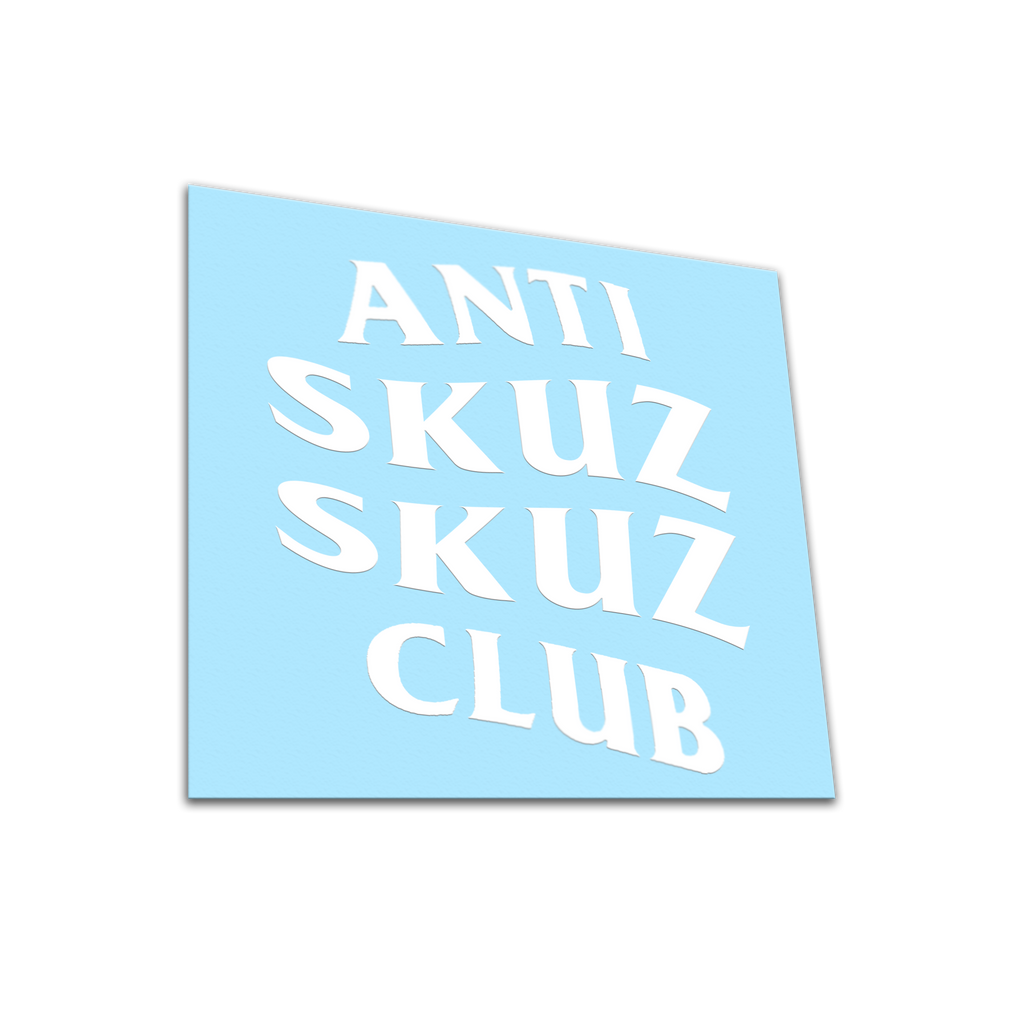 DAY 4 / SKUZ CLUB / White vinyl die-cu - skuzgang