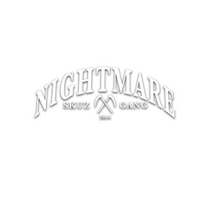 DAY 3 / NIGHTMARE / Vinyl die-cut - skuzgang