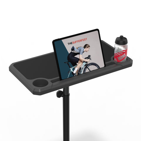 Indoor Media Display Cycling Desk