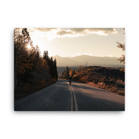 Pain Cave Canvas - Up the Road