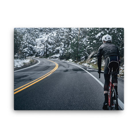 Pain Cave Canvas - First to the Top
