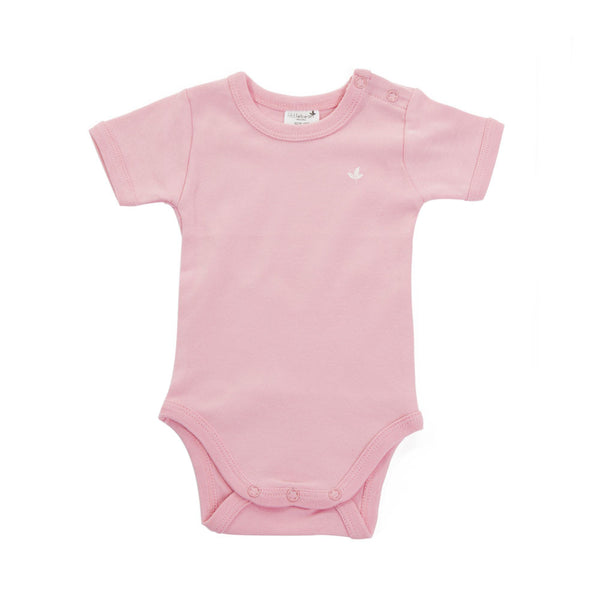 Little Bean Organics - Short Sleeve Bodysuit - Hampers by Nadine