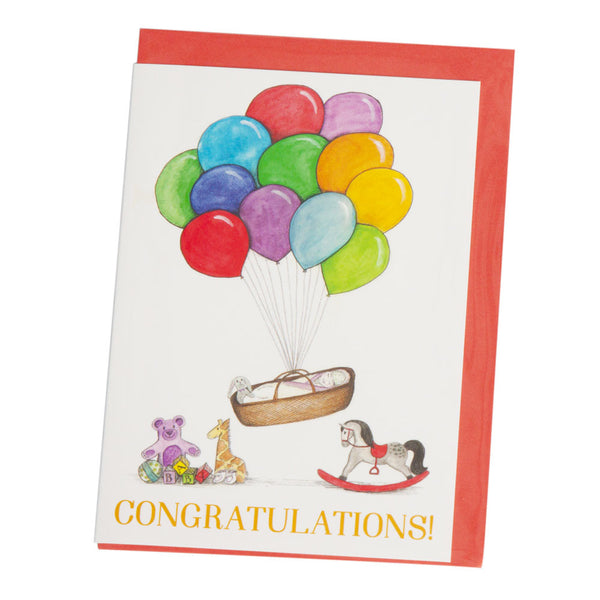 Squid Ink - Greeting Card - Balloons - Hampers by Nadine