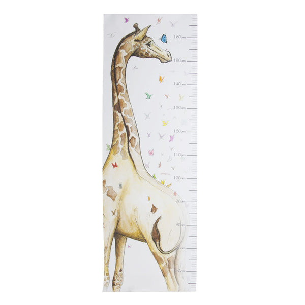 Squid Ink - Growth Chart - Giraffe - Hampers by Nadine
