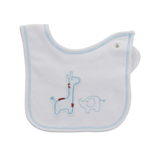 West End Home and Gifts - Safari Bib - 2 pkt - Hampers by Nadine