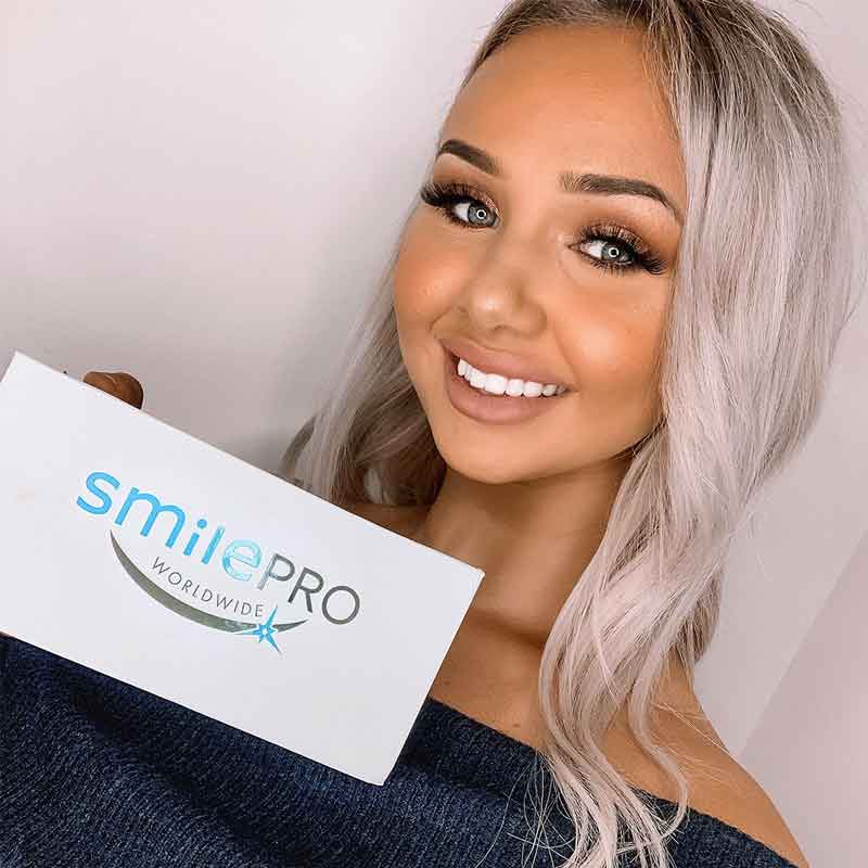 Get great results with SmilePro, safe and effective teeth whitening products.