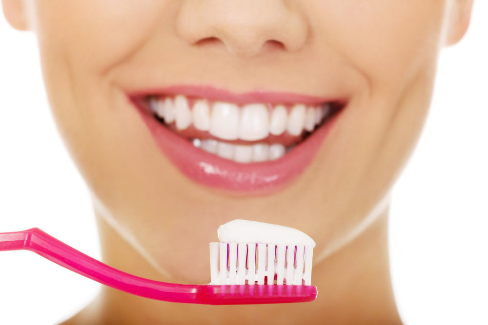 Oral care prevent tooth discolouration