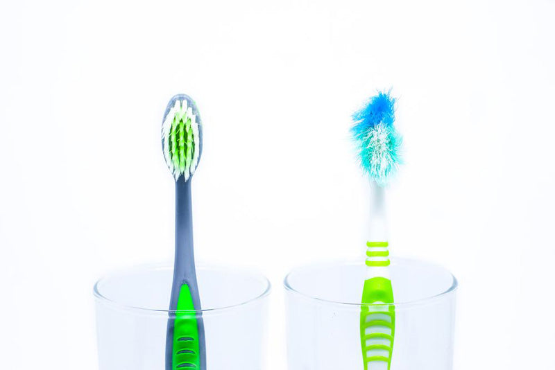 It's important to change your toothbrush regularly for good oral hygiene.