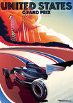 CIRCUIT OF THE AMERICAS 2016 POSTER