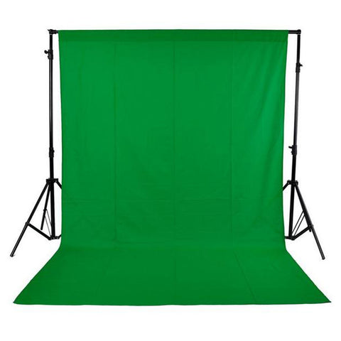 Studio Backdrop w/ Green, White, or Black Screen