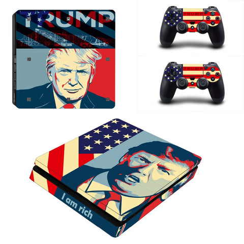Trump Skin for PS4 Slim & Controllers