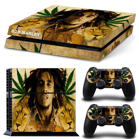 Bob Marley Skin for PS4 & Controllers