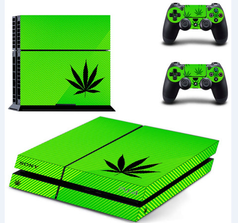 Cannabis Leaf PS4 Skin