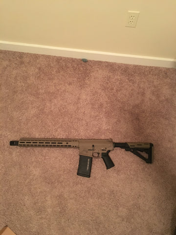 Assembled Rifle