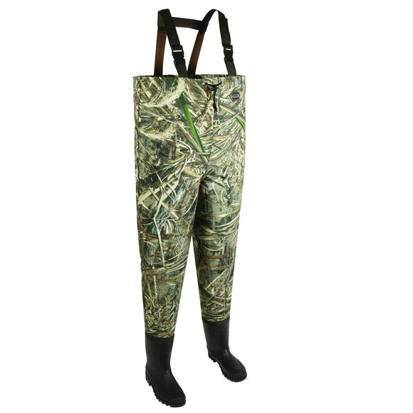 Allen Ridgeway 2Ply Mens Bootfoot Wader-Realtree Max-Size 10