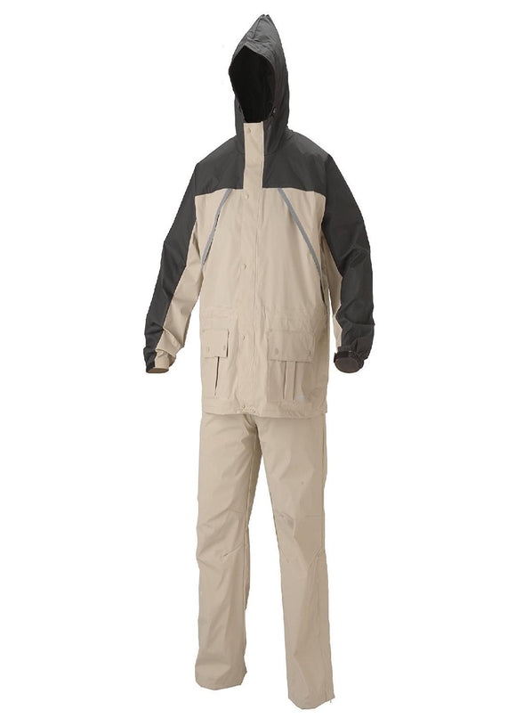 Coleman Apparel Suit PVC-Nylon Tan Size Medium