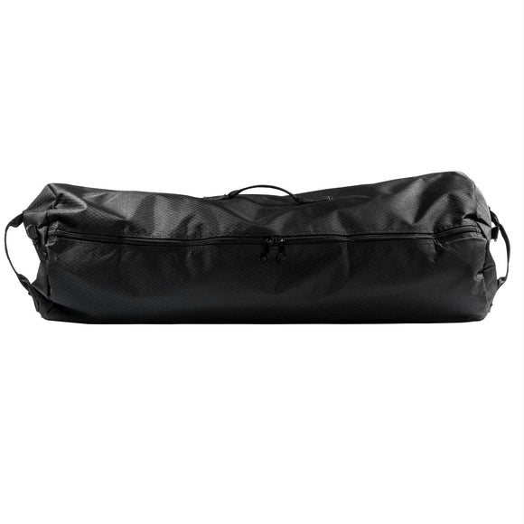 North Star GI Duffle - 21In. Diam 36In. L - Midnight Black