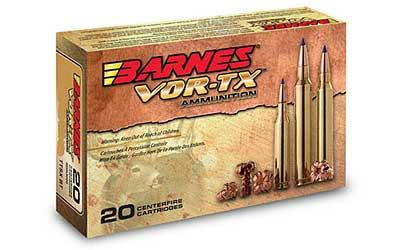 Barnes Vor-tx 7mm 140 Grain Weight Ttsx Ballistic Tip 20-