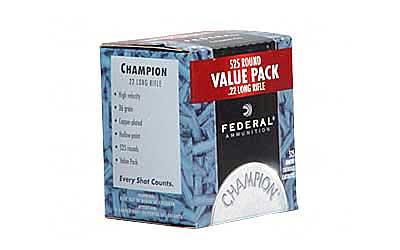 Fed Chmpn 22lr 36 Grain Weight Cp Hp 525-5250
