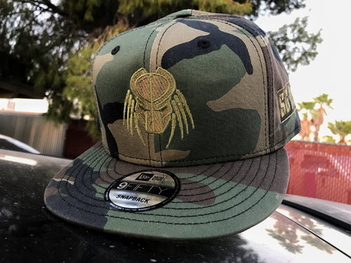 -OUT OF STOCK- Hats - New Era Snapback Green Predator