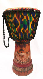 Hand-carved Classical Djembe (West African Drum) - Timbuktu Arts