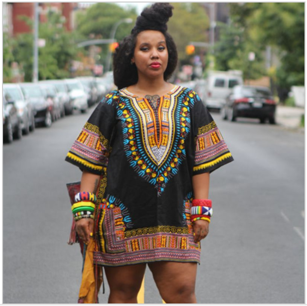 Dashiki Traditional Fashion Print Top - Timbuktu Arts