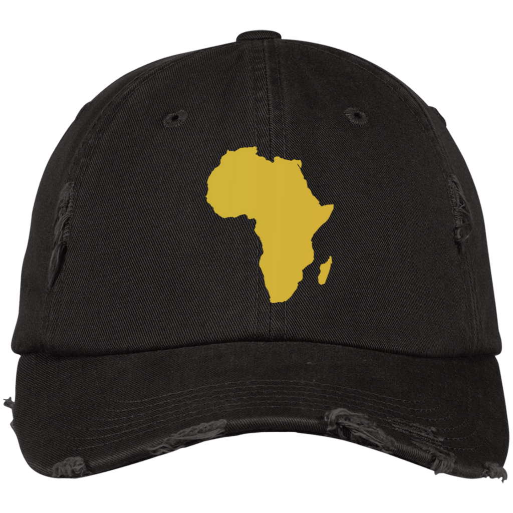 Golden Africa Dad Hat - Timbuktu Arts