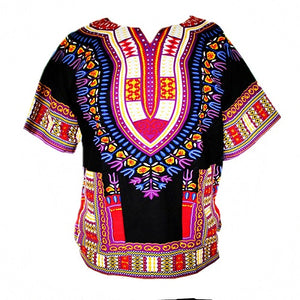 Unisex Traditional Dashiki Print Shirt - Timbuktu Arts
