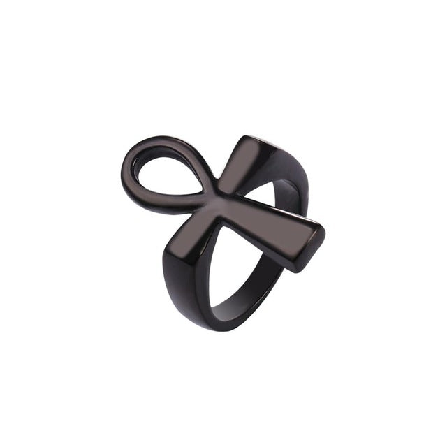 Ancient Egyptian Ankh Ring - Timbuktu Arts