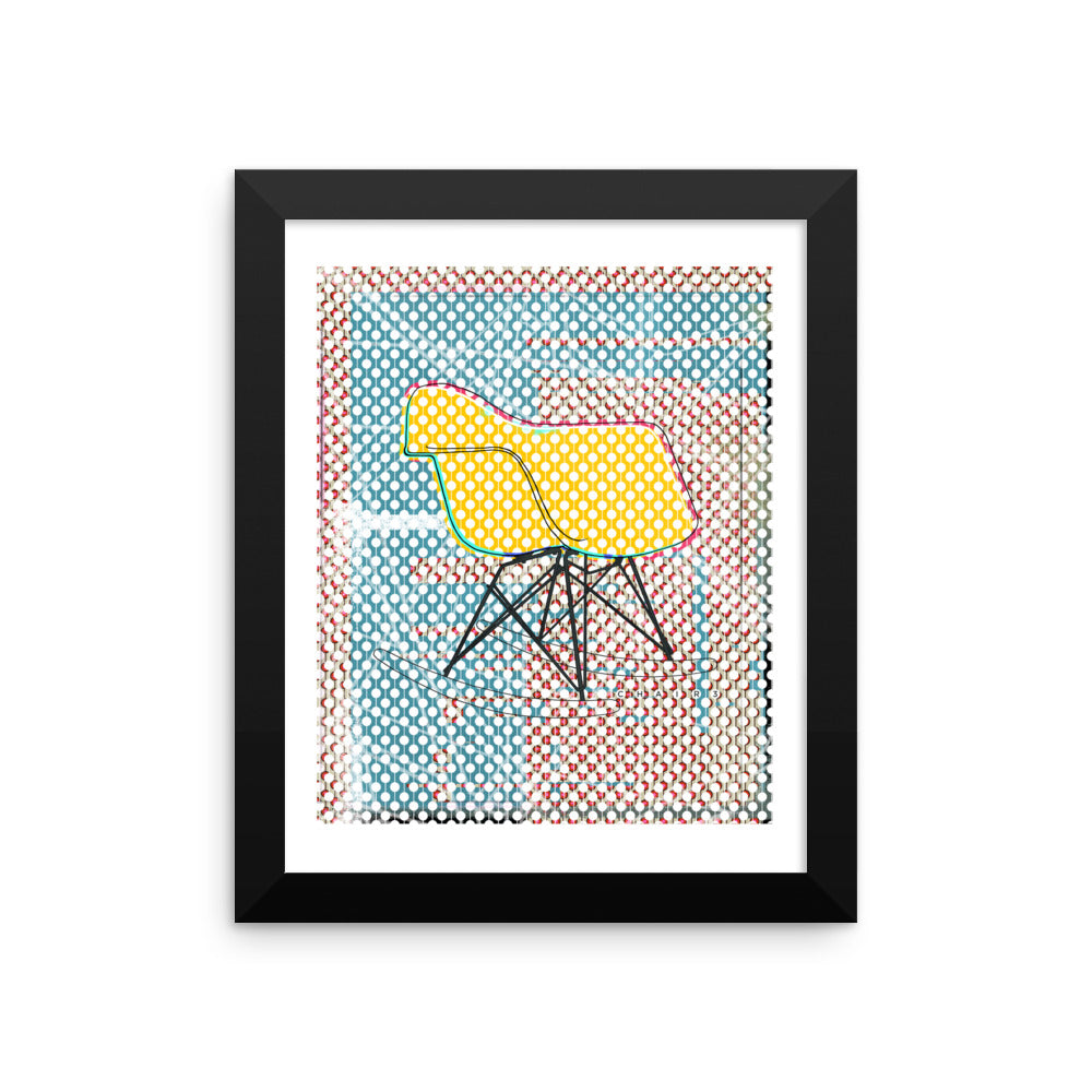Admirable Chair 3 Framed Art Print Of Original Illustration Inspired Spiritservingveterans Wood Chair Design Ideas Spiritservingveteransorg