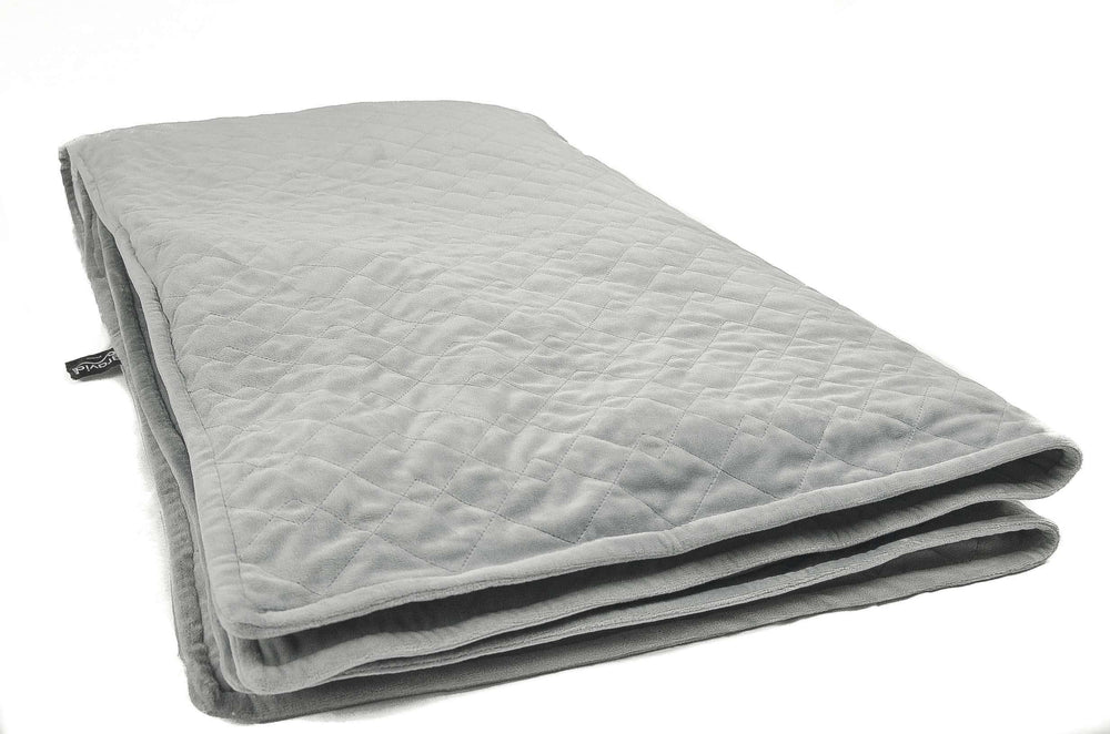 CLEARANCE GRAVID 1.0: Weighted Blanket + Plush Cover
