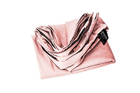 Spring Combo: 2-Piece Set includes Weighted Blanket and Blush Pink BREEZE Cooling Cover