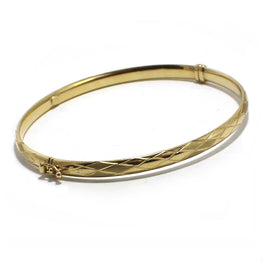 GOODNESS - 10K Yellow Gold Bangle