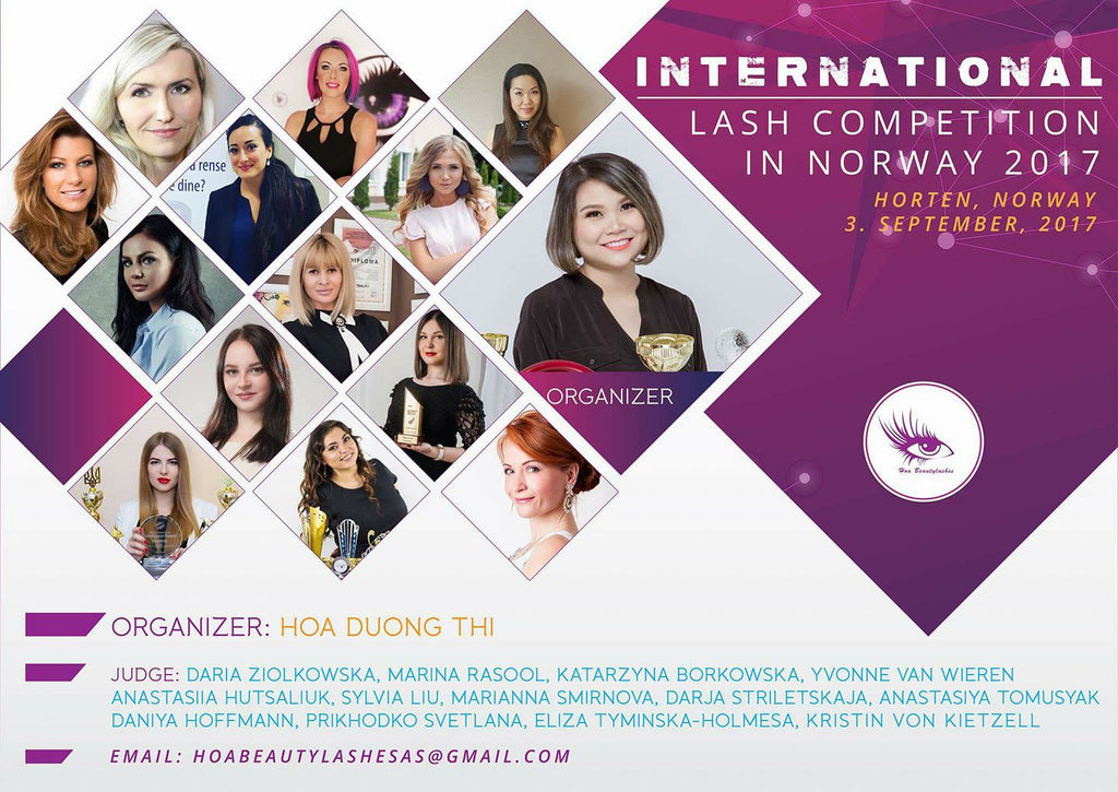 Internaltional Lash Competition in Norway