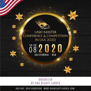 NTERNATIONAL LASH COMPETITION IN USA AND LASH MASTER CONFERENCE 2020