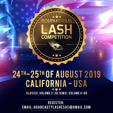 Lash competition 2019