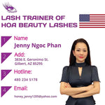 Eyelash Extension Training wt. master Master Jenny Phan
