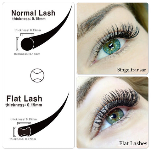 Mixed Flat Lash