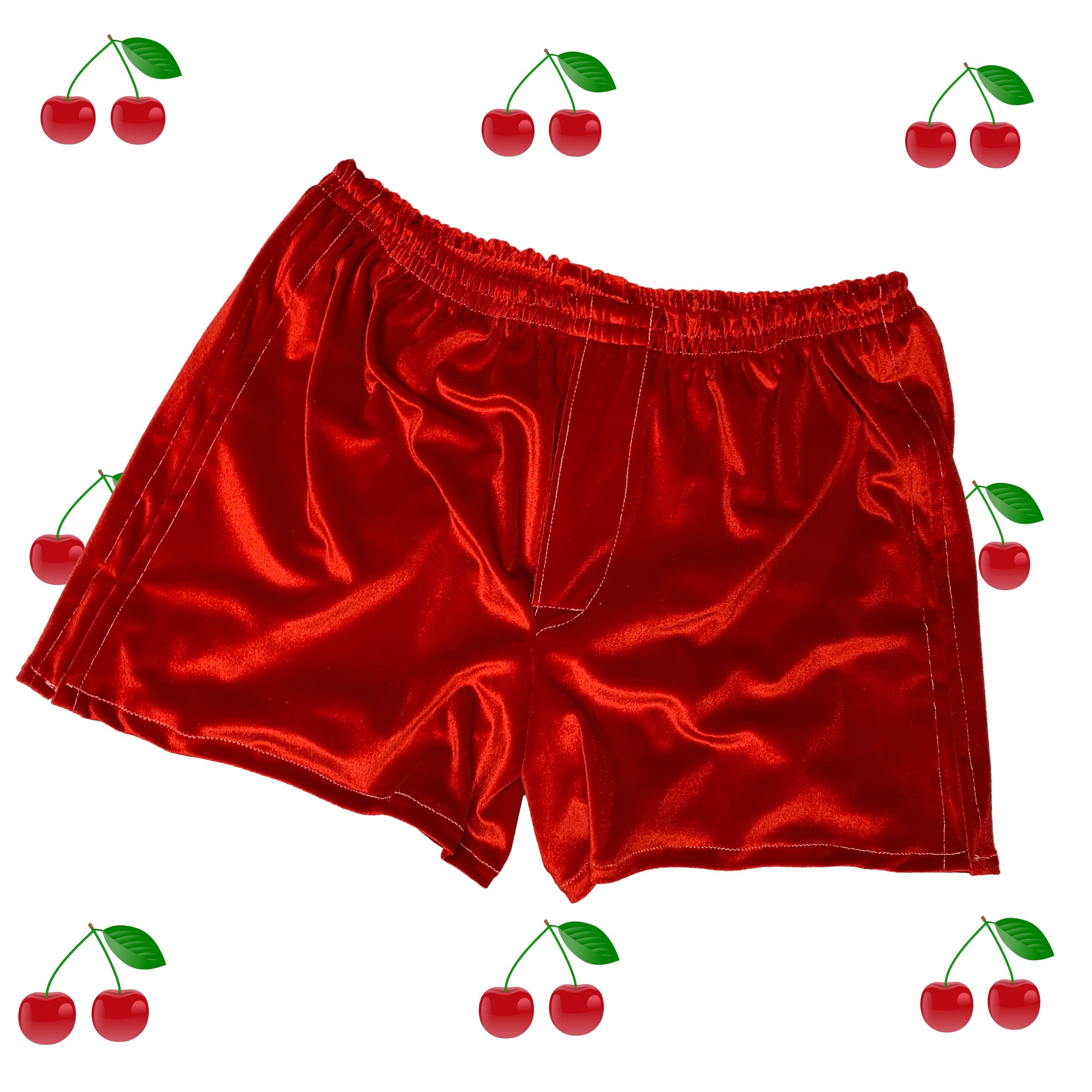 Lounge Boxers in Cherry