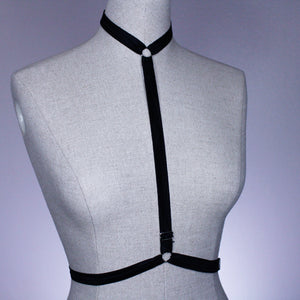 Adjustable Black Harness