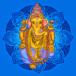 Ganesha - Remover of Obstacles, the patron of arts and sciences and the deva of intellect and wisdom