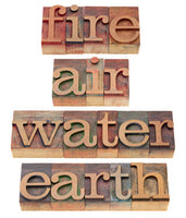 4 ELEMENTS Audio empowerments - Air, Water, Fire and Earth