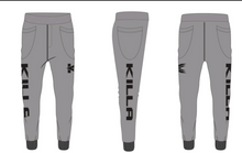 Killa Professional Elite Athlete Sports Pants (Gray Color)