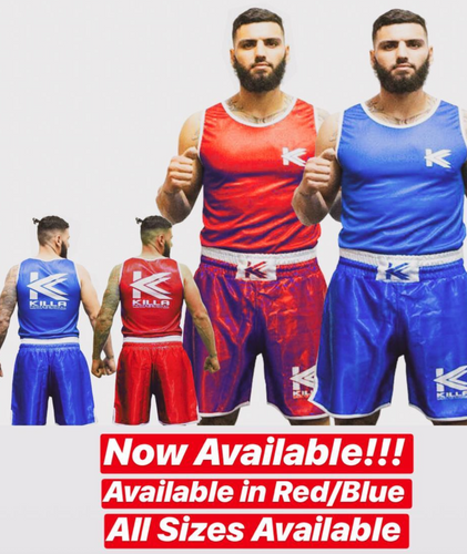 Killa Amatuar boxing Singlet and Trunks Set